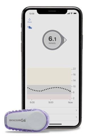 NIHB clients ages 2 to 19 on intensive insulin therapy are now eligible for coverage of the Dexcom G6 CGM System. (Photo: Business Wire)