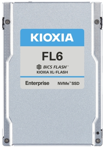 Featuring the KIOXIA SCM solution, XL-FLASH, the dual-port and PCIe 4.0-compliant KIOXIA FL6 Series SSDs bridge the gap between DRAM and TLC-based drives. (Photo: Business Wire)