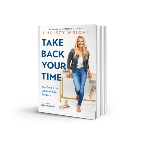 """Christy Wright's new book, """"Take Back Your Time,"""" is for people who feel overwhelmed, overcommitted and out of balance. It offers practical, tactical steps for achieving balance in every season. (Photo: Business Wire)"""