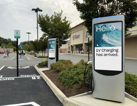 Volta Announces New Station Installation in Fairfax, Virginia (Photo: Business Wire)
