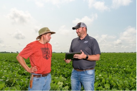 With boots in the field, advanced technology and ultra high-resolution imagery available to growers, ServiTech can help ensure precision for every crop (Photo: Business Wire)