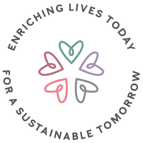 Enriching Lives Today For A Sustainable Tomorrow logo (Graphic: Mary Kay Inc.)