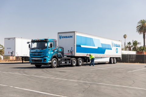 one Embark truck (Photo: Business Wire)