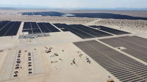 Maverick 6 & 7 Solar Projects in Riverside County California generate 310 megawatts of solar energy. (Photo: Business Wire)