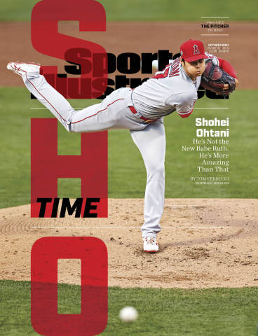 With two covers featuring Ohtani, the October issue is available at SI.com today and on shelves on September 23. (Photo: Business Wire)