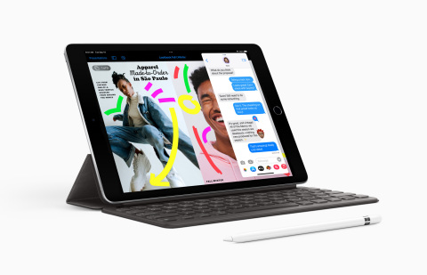 The ninth-generation iPad is a huge leap forward and delivers advanced features at an incredible price. (Photo: Business Wire)