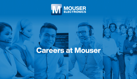 Mouser Electronics recently launched a new Careers site that makes the application process even easier and will host an onsite Drive-Thru Job Fair on Saturday, September 18, at its headquarters in Mansfield, Texas. (Graphic: Business Wire)