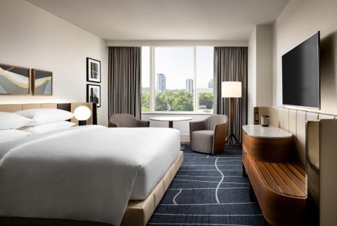 Park Hyatt Toronto King Guestroom (Photo: Business Wire)