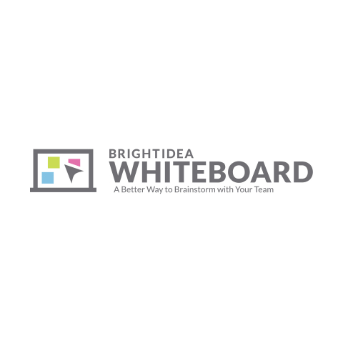 Brightidea Whiteboard is the first idea management platform with native whiteboards. Collaborate with your team in real-time, in infinite space + link your ideas to innovation pipelines. (Graphic: Brightidea)