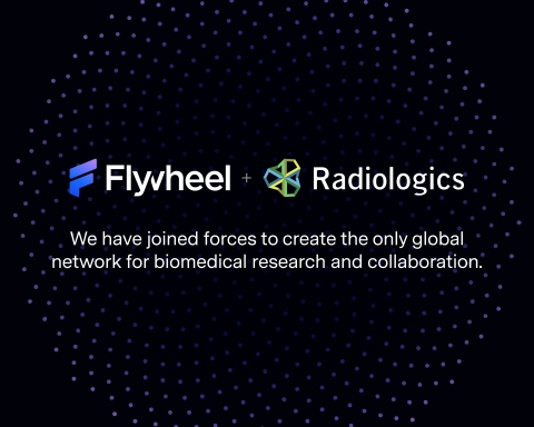 Flywheel is the revolutionary research data management platform powering healthcare innovation by accelerating collaboration, enabling machine learning, and streamlining the massive task of data aggregation, curation and management. (Graphic: Flywheel)