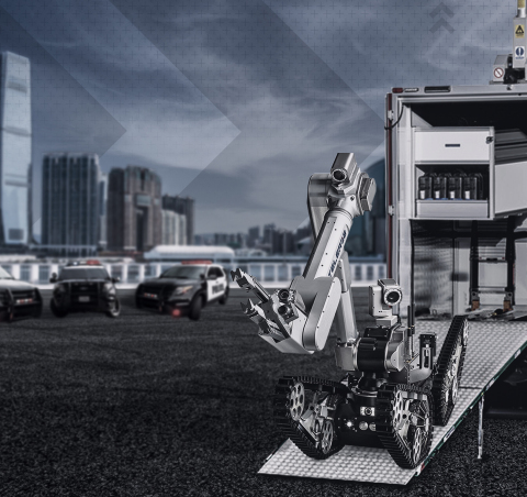 United States Pentagon Force Protection Agency to equip its Hazardous Devices Branch with telemax EVO HYBRID unmanned ground vehicle systems (Photo: AeroVironment, Inc.)