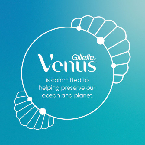 Gillette Venus is committed to helping preserve our ocean and planet. (Graphic: Business Wire)