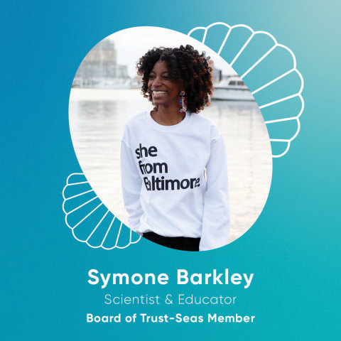 Symone Barkley (she/her): Chief Learning Officer for Black in Marine Science (Photo: Business Wire)