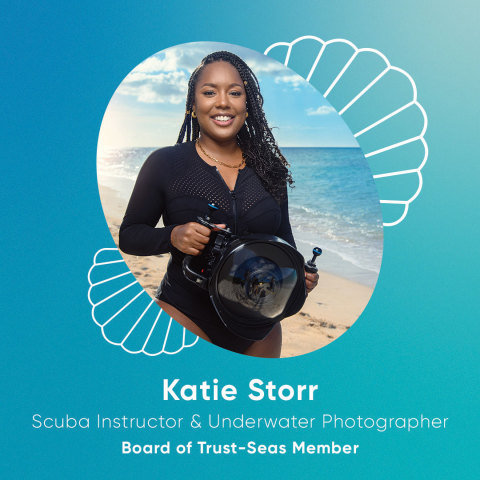 Katie Storr (she/her): Yachting Professional, Underwater Photographer and Scuba Instructor (Photo: Business Wire)