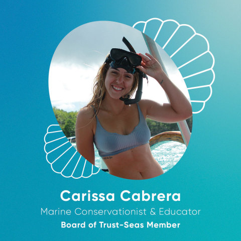 Carissa Cabrera (she/her): Marine Conservation Biologist and Educator (Photo: Business Wire)