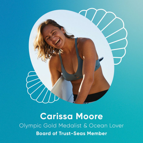 Carissa Moore: 4X World Surfing Champion, Olympic gold medalist, and ocean lover (Photo: Business Wire)