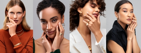 """FUTURA Jewelry is proud to debut the """"CHANGEMAKERS"""" campaign for Fall/Winter 2021 featuring Hartje Andresen, Anisa Benitez, Jasmine Elboukili, and Tenzing Kalden of Role Models Agency, each of whom embody the ethos of FUTURA and live a fully sustainable and ethical lifestyle. Photography by Miguel Herrera."""