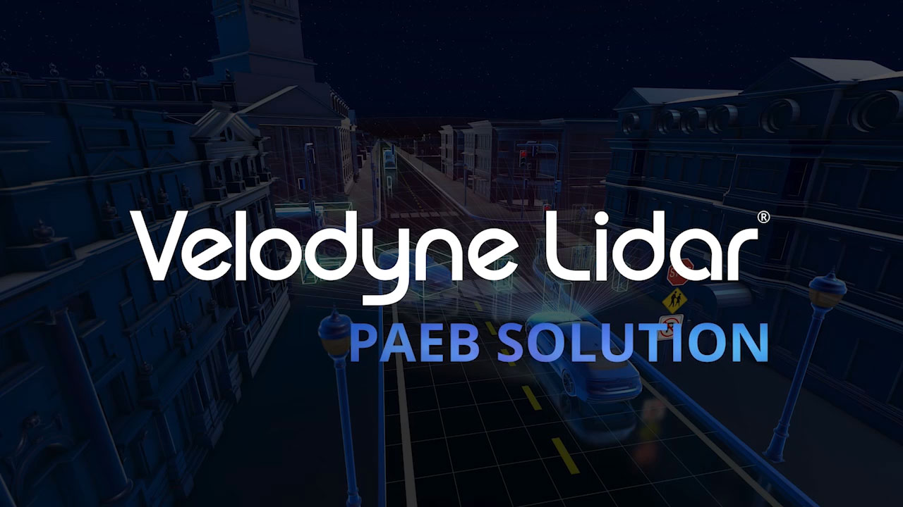 Pedestrian Automated Emergency Braking (PAEB) systems are a foundational element for both autonomous vehicles and advanced driver assistance systems (ADAS). They provide automatic braking for vehicles when pedestrians are in the path of the vehicle's travel and the driver has taken insufficient action to avoid an imminent crash. A Velodyne Lidar video Illustrates how a lidar-based PAEB system can reduce pedestrian fatalities in all conditions. (Video: Velodyne Lidar)