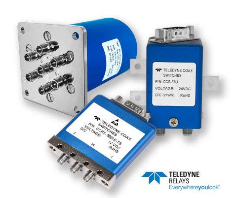 Teledyne Relays New Family of High Frequency Coax Switches (Photo: Business Wire)