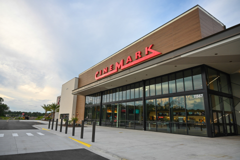 Cinemark announces grand opening of Cinemark Jacksonville Atlantic North and XD on Thursday, Sept. 16. (Photo: Business Wire)