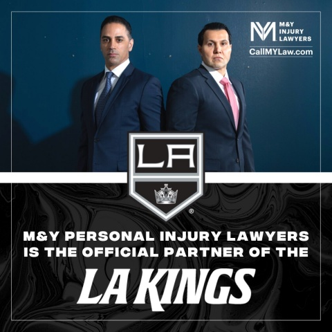 Multiyear Deal Makes Movagar & Yamin Personal Injury Lawyers the First-Ever Law Firm to Partner with both the LA Kings and Ontario Reign (Photo: Business Wire)