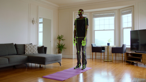 Combining motion sensors and computer vision further burnishes Hinge Health's digital physical therapy solution as the most comprehensive on the market. (Photo: Business Wire)