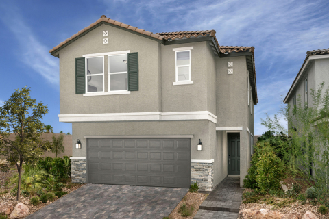 KB Home announces the grand opening of Edgebrook, a new gated community in popular Southwest Las Vegas. (Photo: Business Wire)