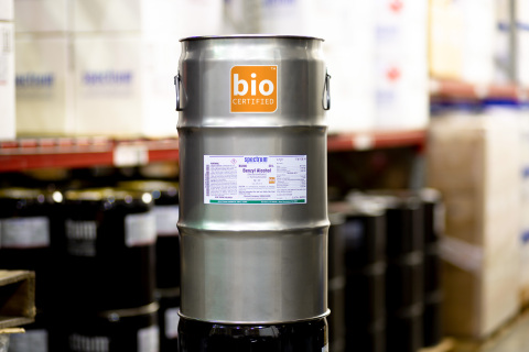 Spectrum Chemical bioCERTIFIED™ product. (Photo: Business Wire)
