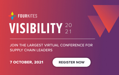 FourKites®, the world's leading real-time supply chain visibility platform, today announced that its European customer conference, Visibility 2021, will be held virtually on 7 October.