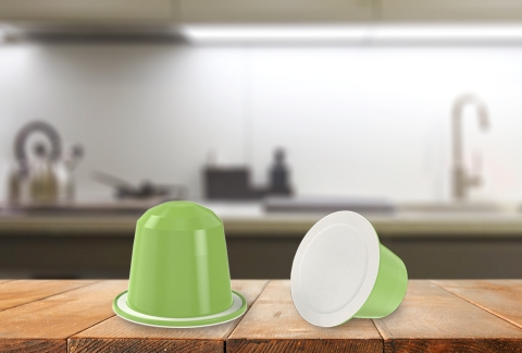Co-developed by Jabil Packaging Solutions and Productos Solubles S.A. (Prosol), the home-compostable coffee capsule improves on existing solutions and is a significant advancement in coffee pod sustainability. (Photo: Business Wire)