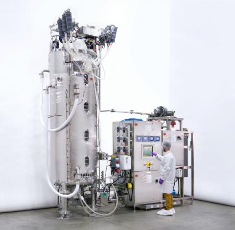 ABEC 1,000L CSR® Single-Use Fermenter (Photo: Business Wire)