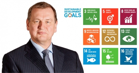 """Cedo CEO, Rik De Vos, says """"Cedo is proud of our contribution to achieving the goals of sustainable business development outlined by the UN"""" (Photo: Business Wire)"""