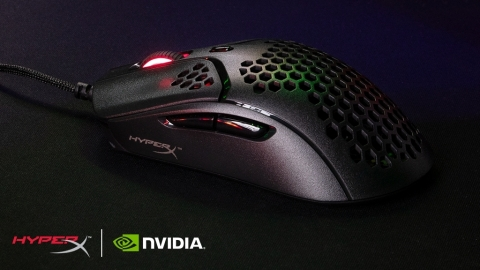 HyperX Pulsefire Haste Gaming Mouse Now Compatible with NVIDIA Reflex (Photo: Business Wire)
