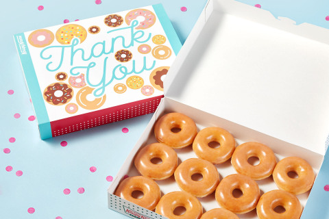 Fans who send special gift-wrapped dozens to those they're most grateful for will receive a FREE dozen to enjoy as 'thank you' from brand. (Photo: Business Wire)