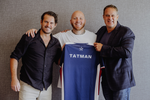 Justin Kenna, CEO, GameSquare (left); TimTheTatman (center); Jason Lake, CEO, Complexity Gaming, and Global Head of Esports, GameSquare (right) (Photo: Business Wire)