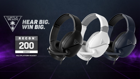 Hear Big. Win Big. The Amplified Recon 200 Gen 2 Multiplatform Gaming Headset Delivers Even More Features and Functionality for the Same $59.95 MSRP. Now Available Globally at Participating Retailers. (Graphic: Business Wire)