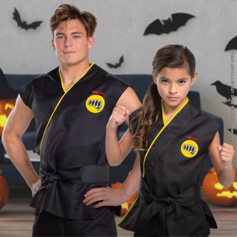 Cobra Kai costumes at Walmart (Photo: Business Wire)