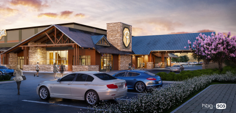 The highly anticipated Flying Lark is a 35,000 square-foot gaming, entertainment and dining venue, opening in the winter of 2021. The Flying Lark will be a Southern Oregon destination that has something for everyone. (Photo: Business Wire)