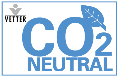 All of Vetter's global corporate sites are carbon-dioxide neutral (Photo: Business Wire)
