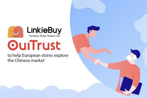 LinkieBuy s'associe à OuiTrust pour accompagner les magasins français à rentrer dans le marché chinois (Graphic: Business Wire)