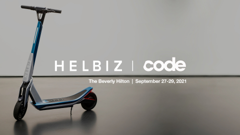 Helbiz to Attend CODE 2021 Conference in Beverly Hills (Photo: Business Wire)