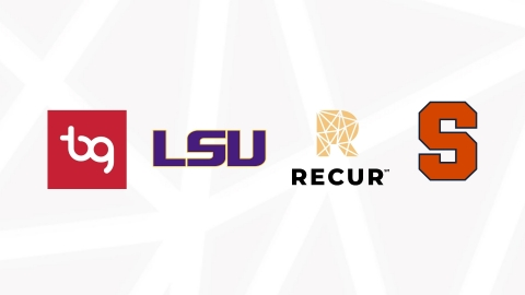 RECUR Announces Partnerships with Louisiana State University, Syracuse University and BrandR Group for new Collegiate NFT Marketplace, NFTU (Photo: Business Wire)