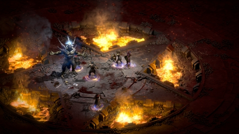 Designed to take full advantage of today's modern gaming hardware, Diablo II: Resurrected supports up to 4K resolution* displays. It also includes fully remastered 7.1 Dolby Surround audio* so players won't miss a single bloodcurdling scream. (Graphic: Business Wire)