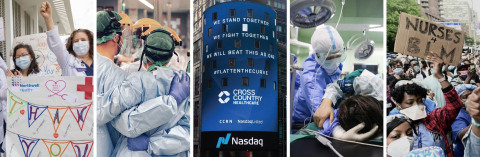 Cross Country Healthcare Corporate Social Responsibility report highlights the support provided to a nation in crisis (Photo: Business Wire)