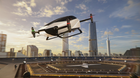 XPeng X2 flying vehicle (Photo: Business Wire)