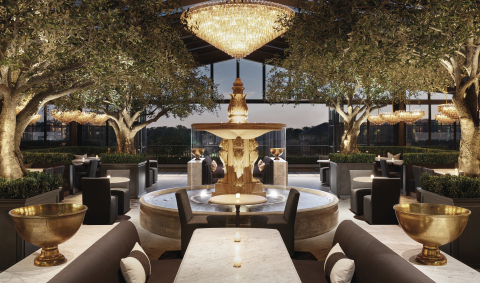 RH ROOFTOP RESTAURANT AT RH OAK BROOK, THE GALLERY AT OAKBROOK CENTER (Photo: Business Wire)