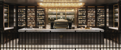 RH WINE BAR AT RH OAK BROOK, THE GALLERY AT OAKBROOK CENTER (Photo: Business Wire)