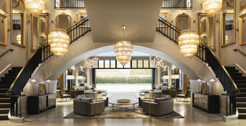 RH INTERIORS AT RH OAK BROOK, THE GALLERY AT OAKBROOK CENTER (Photo: Business Wire)