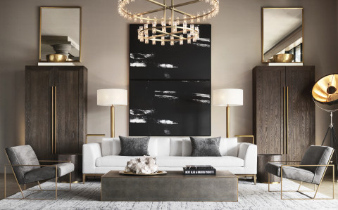 RH MODERN AT RH OAK BROOK, THE GALLERY AT OAKBROOK CENTER (Photo: Business Wire)