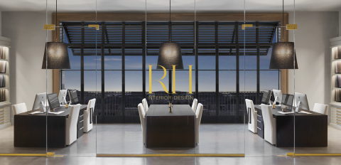 RH INTERIOR DESIGN FIRM & ATELIER AT RH OAK BROOK, THE GALLERY AT OAKBROOK CENTER (Photo: Business Wire)